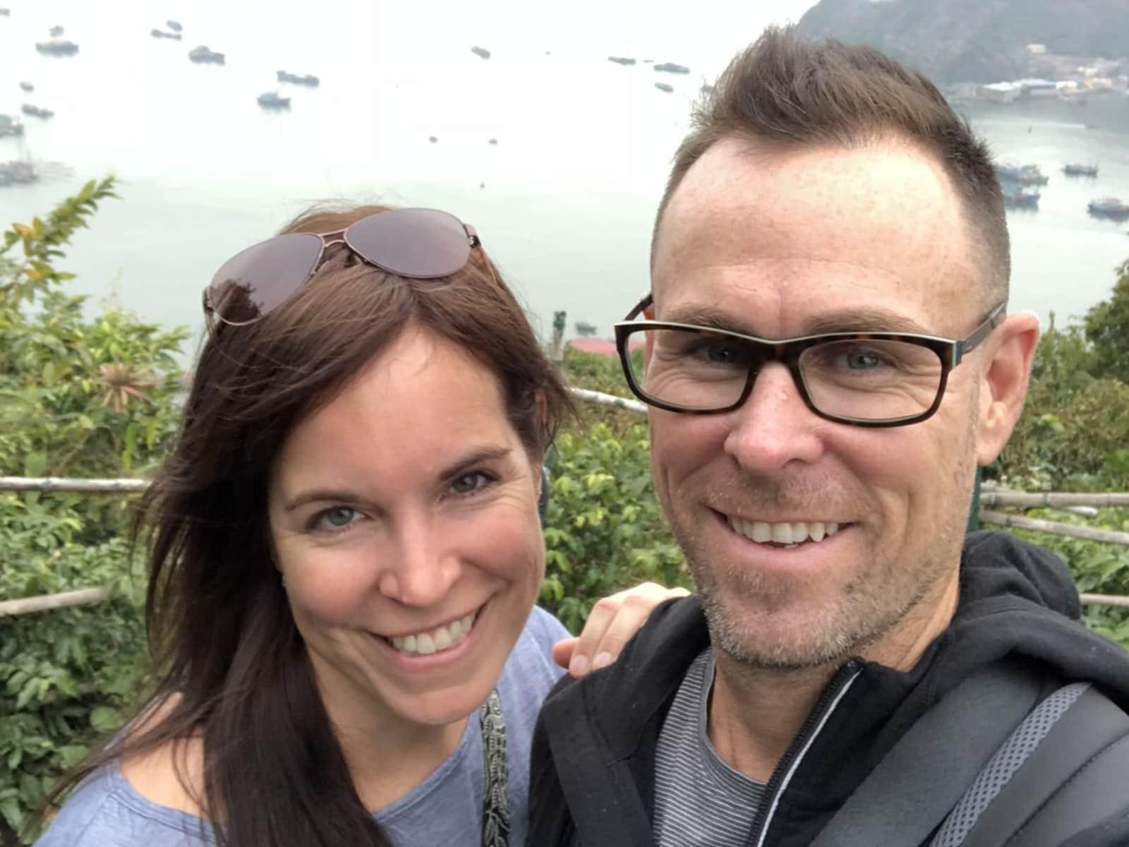 Karine & Ryan from Bangkok, Thailand