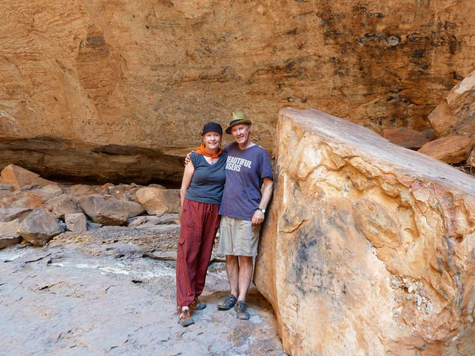 Donna & David from Perth, Western Australia, Australia