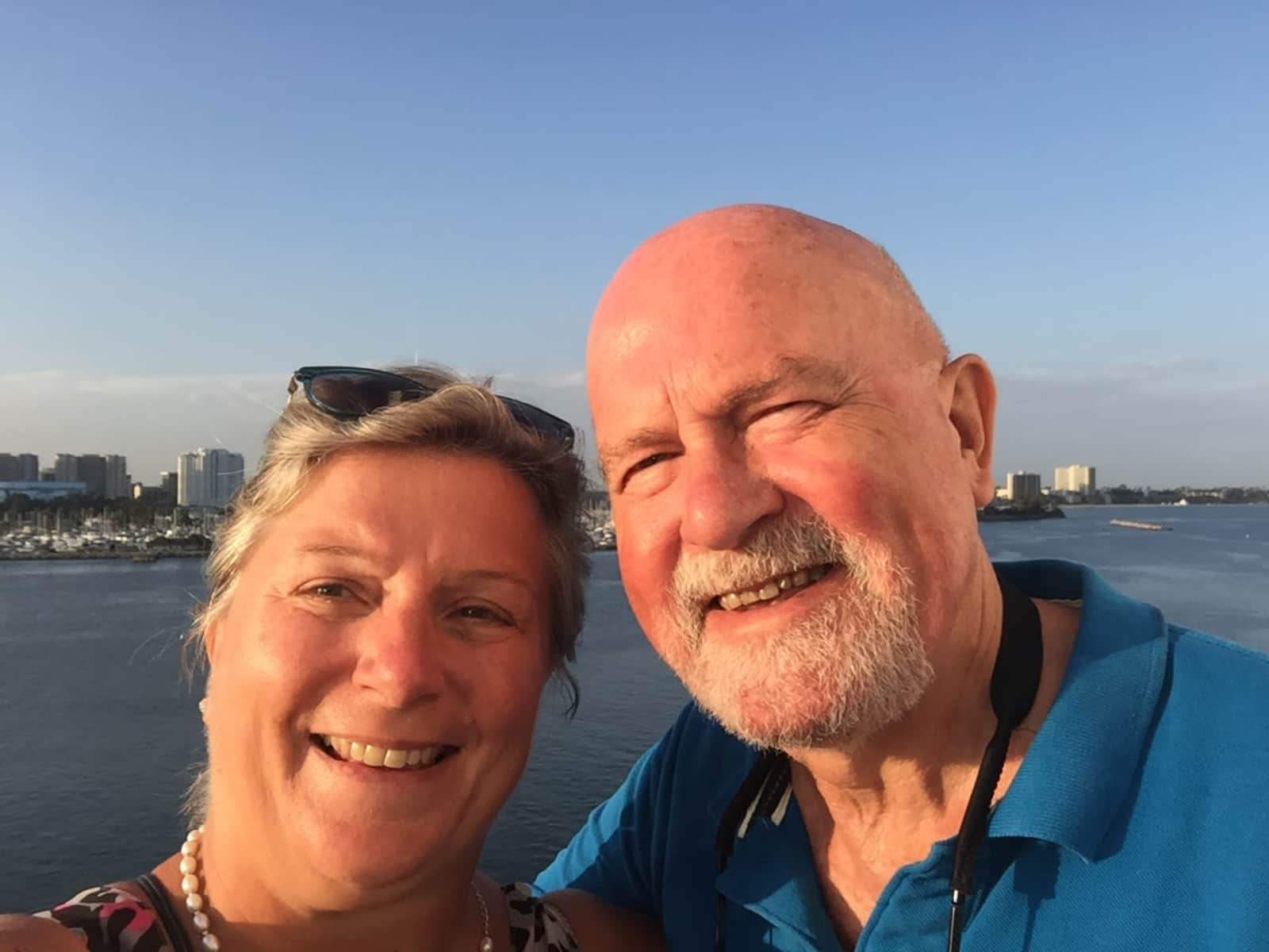Andrea & John from Cambridge, United Kingdom