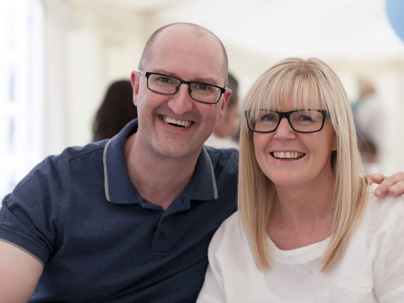 Sheena & Andrew from London, United Kingdom