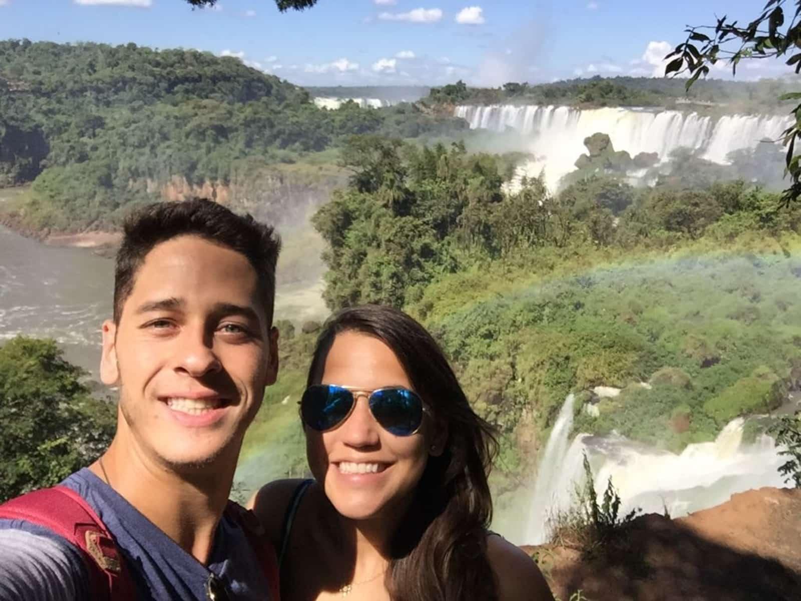 Fernando & Stephanie from Curitiba, Brazil