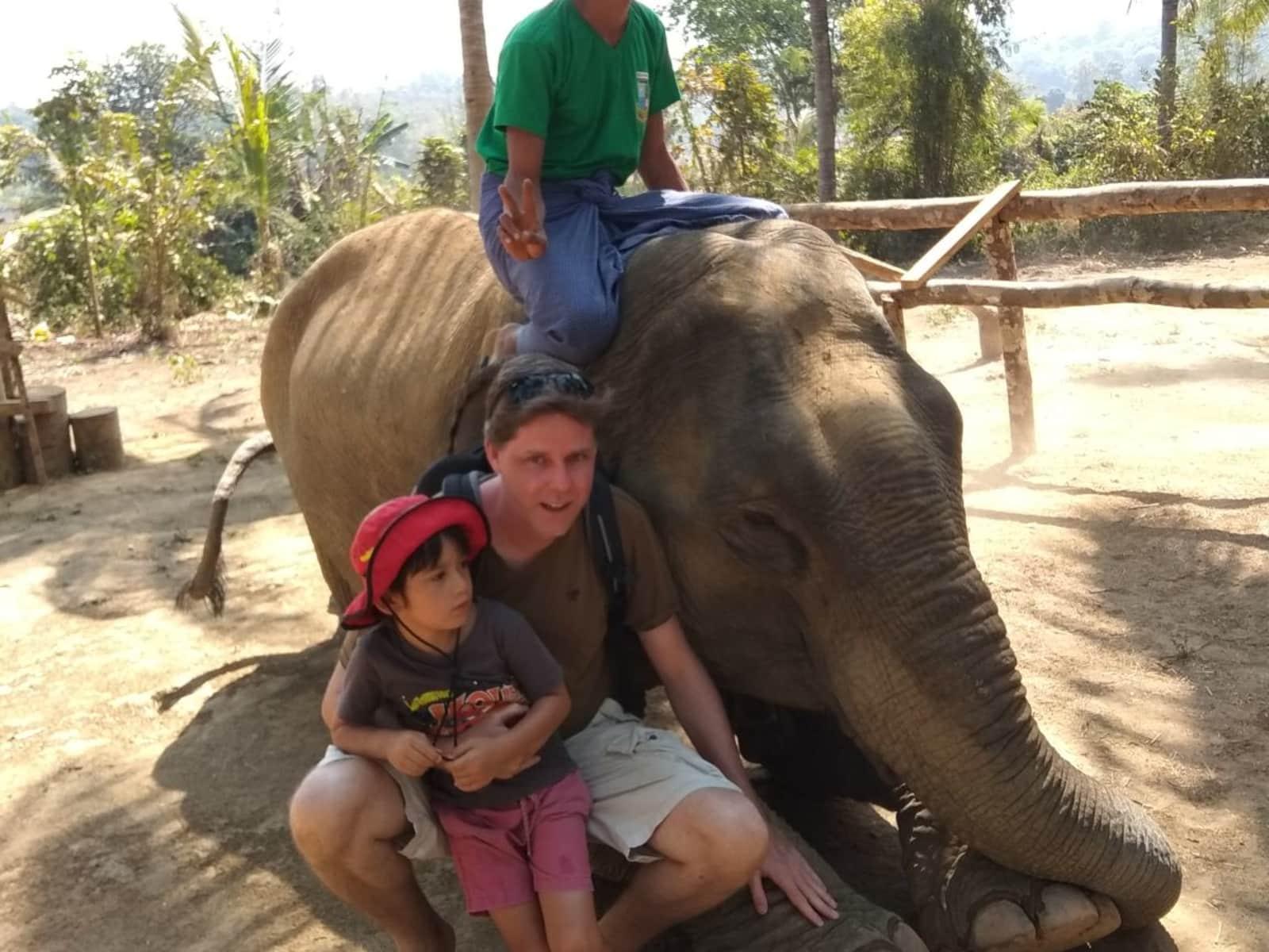Glenn & Rodelita from Yangon, Myanmar