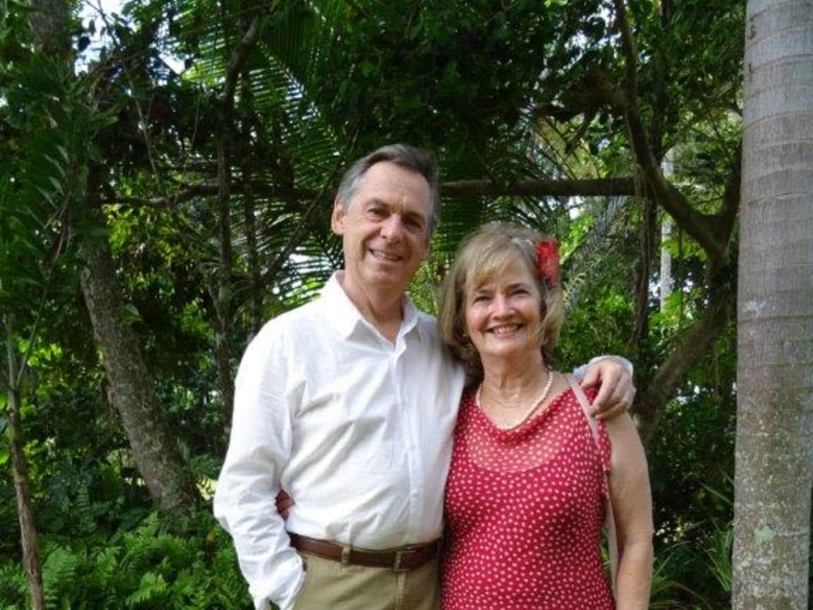 Marlene and geoff & Geoff from Brisbane, Queensland, Australia
