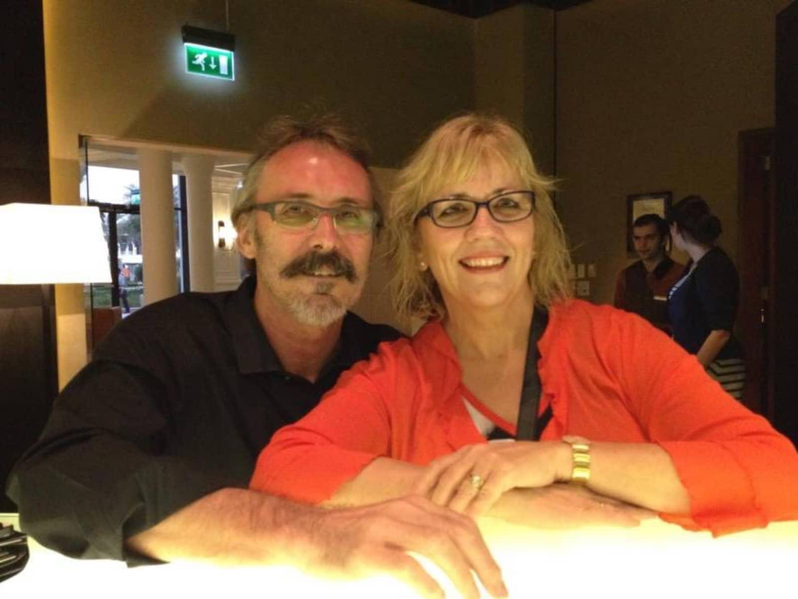 Moraig & Brian from Christchurch, New Zealand