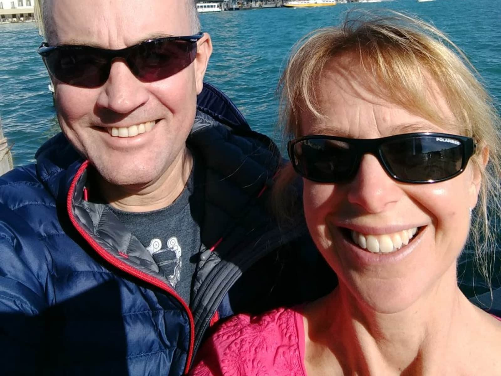 Mark & Fiona from Glossop, United Kingdom
