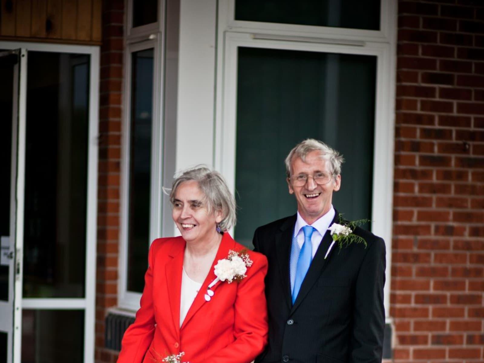 Margaret  & John  from Doncaster, United Kingdom