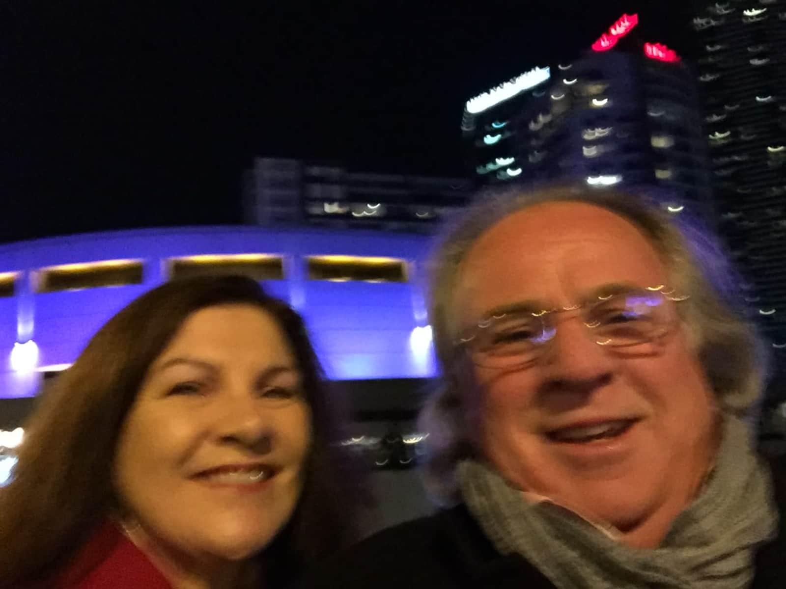 Sue & Trevor from Ferntree Gully, Victoria, Australia