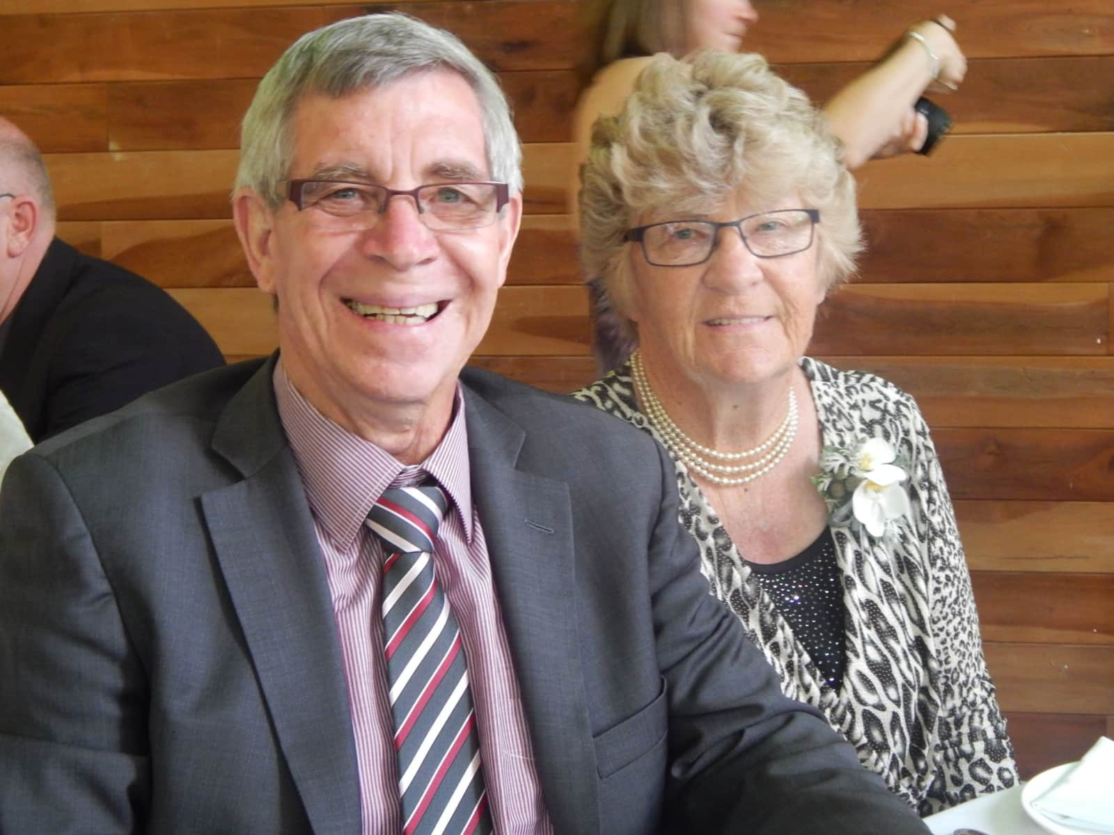 Roger & Faye from Wanganui, New Zealand