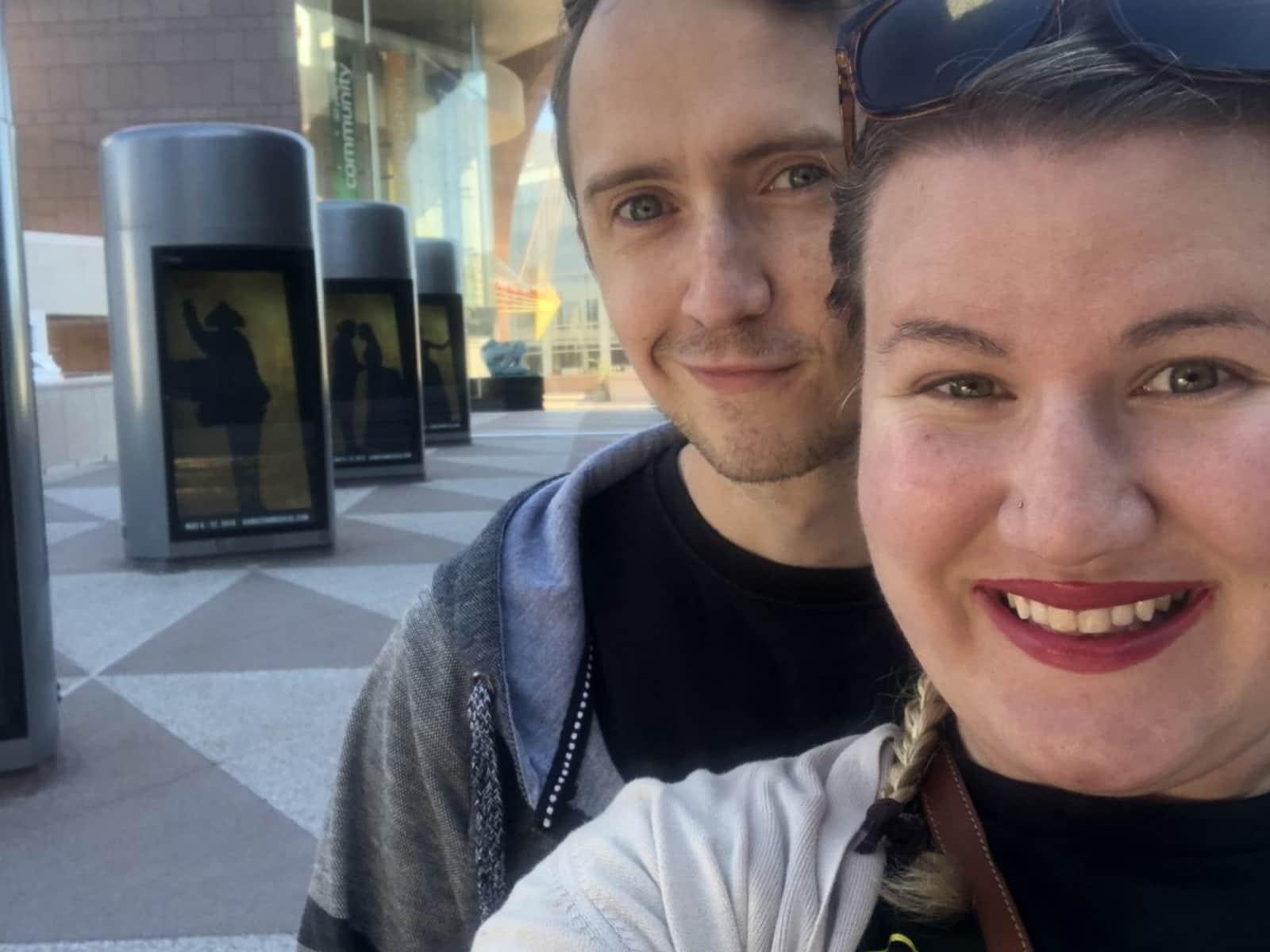 Emily & Andrew from Sacramento, California, United States
