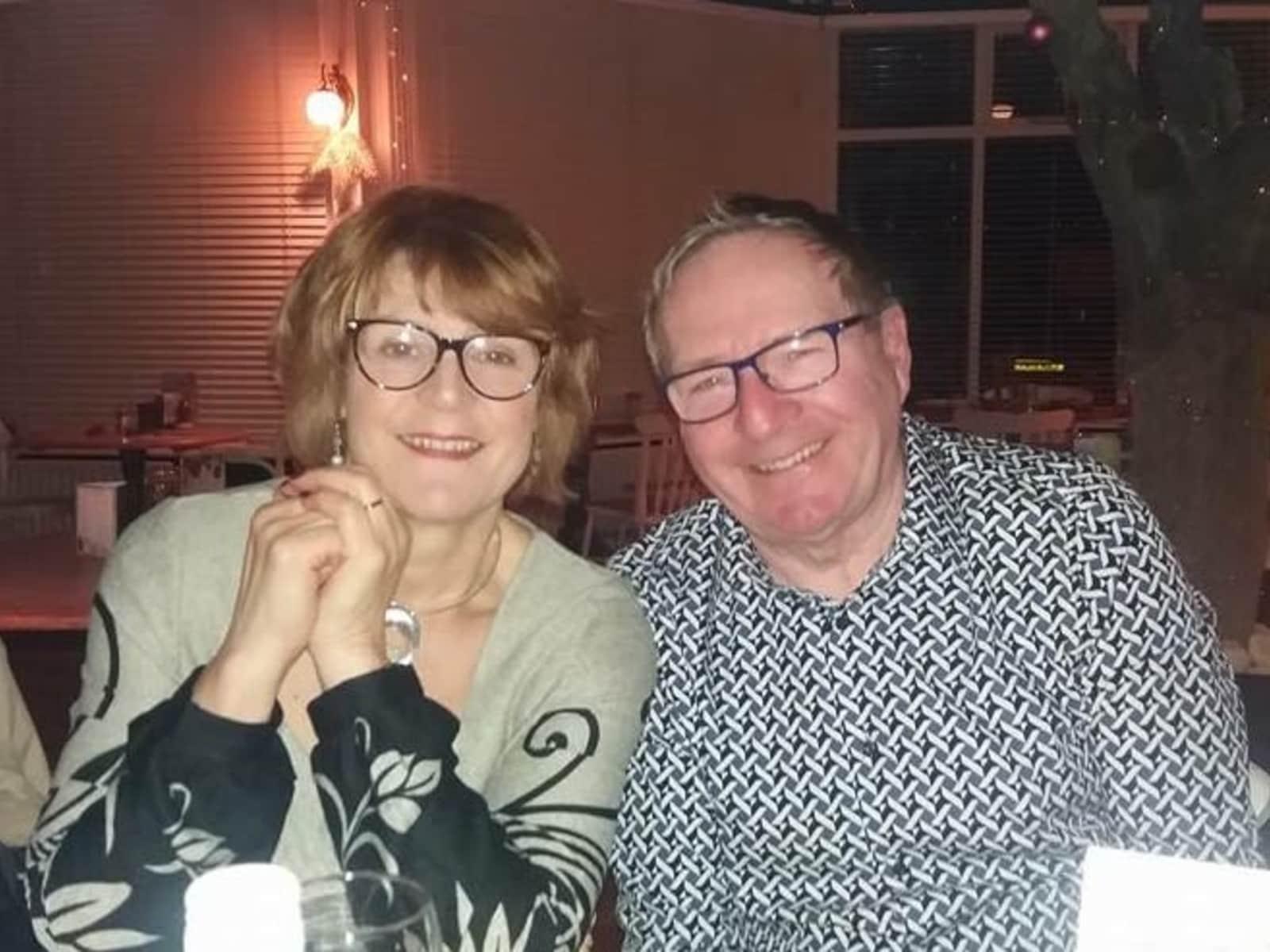 Liz & Jim from Stamford Bridge, United Kingdom