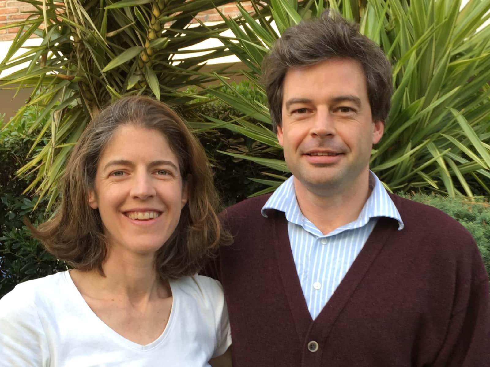 Phillipa & David from Málaga, Spain