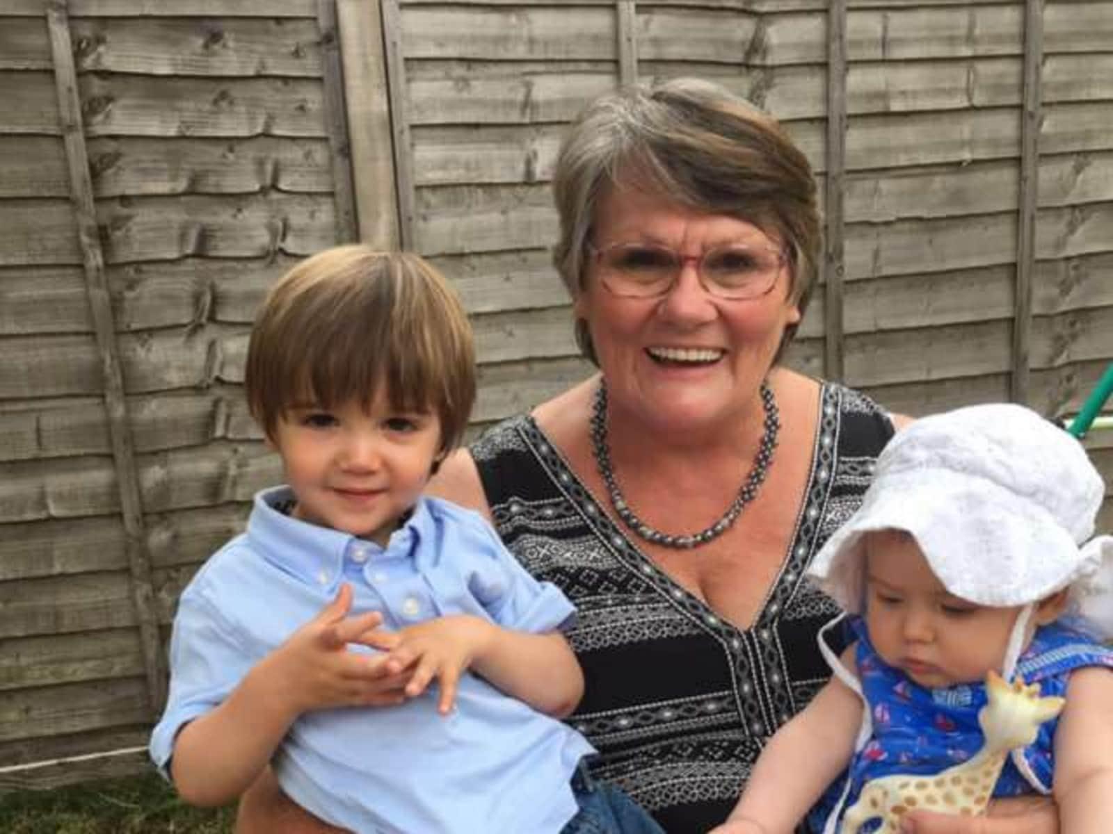 Judy from Bristol, United Kingdom