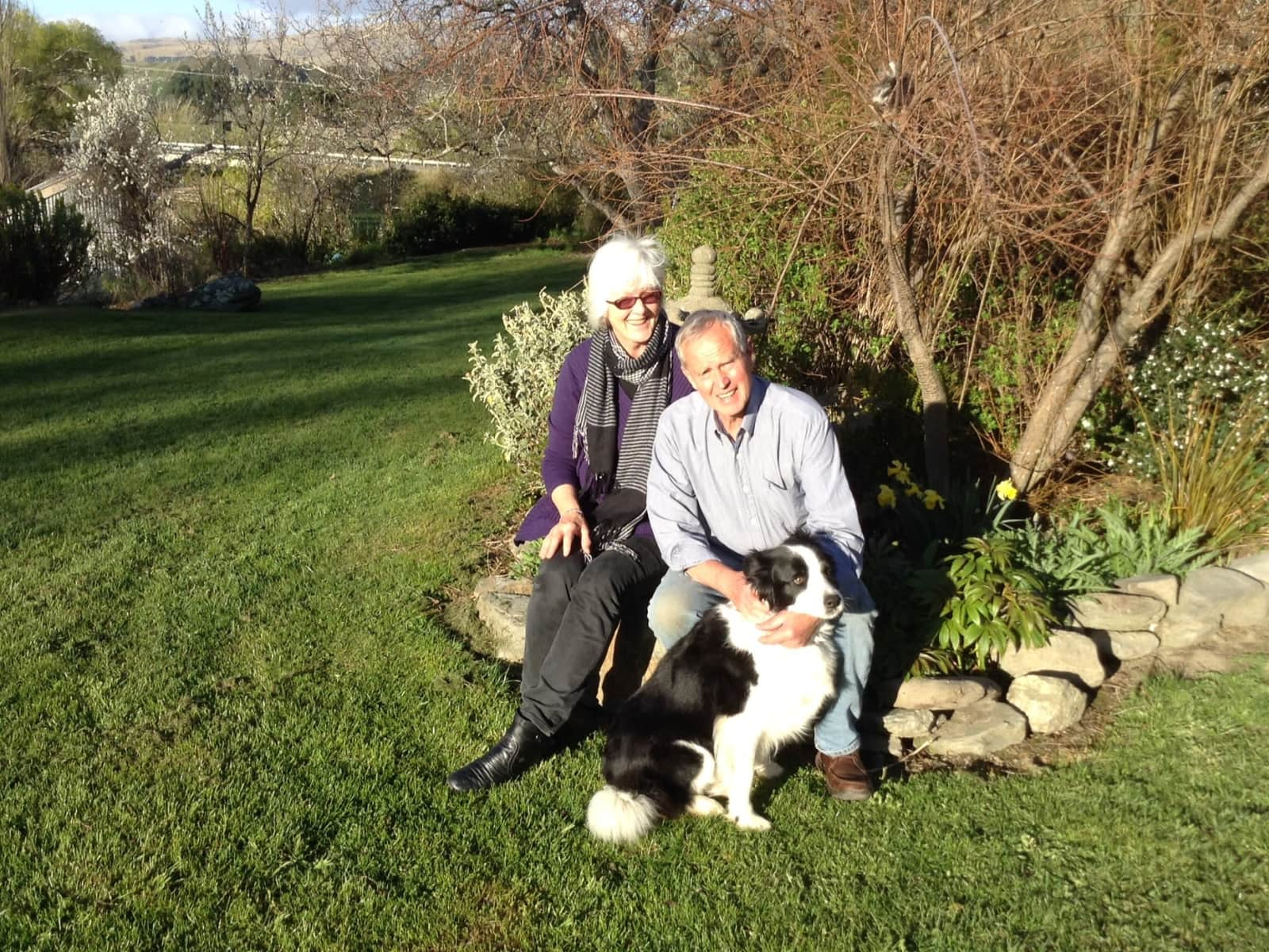 Vivien & Gordon from Dunedin, New Zealand