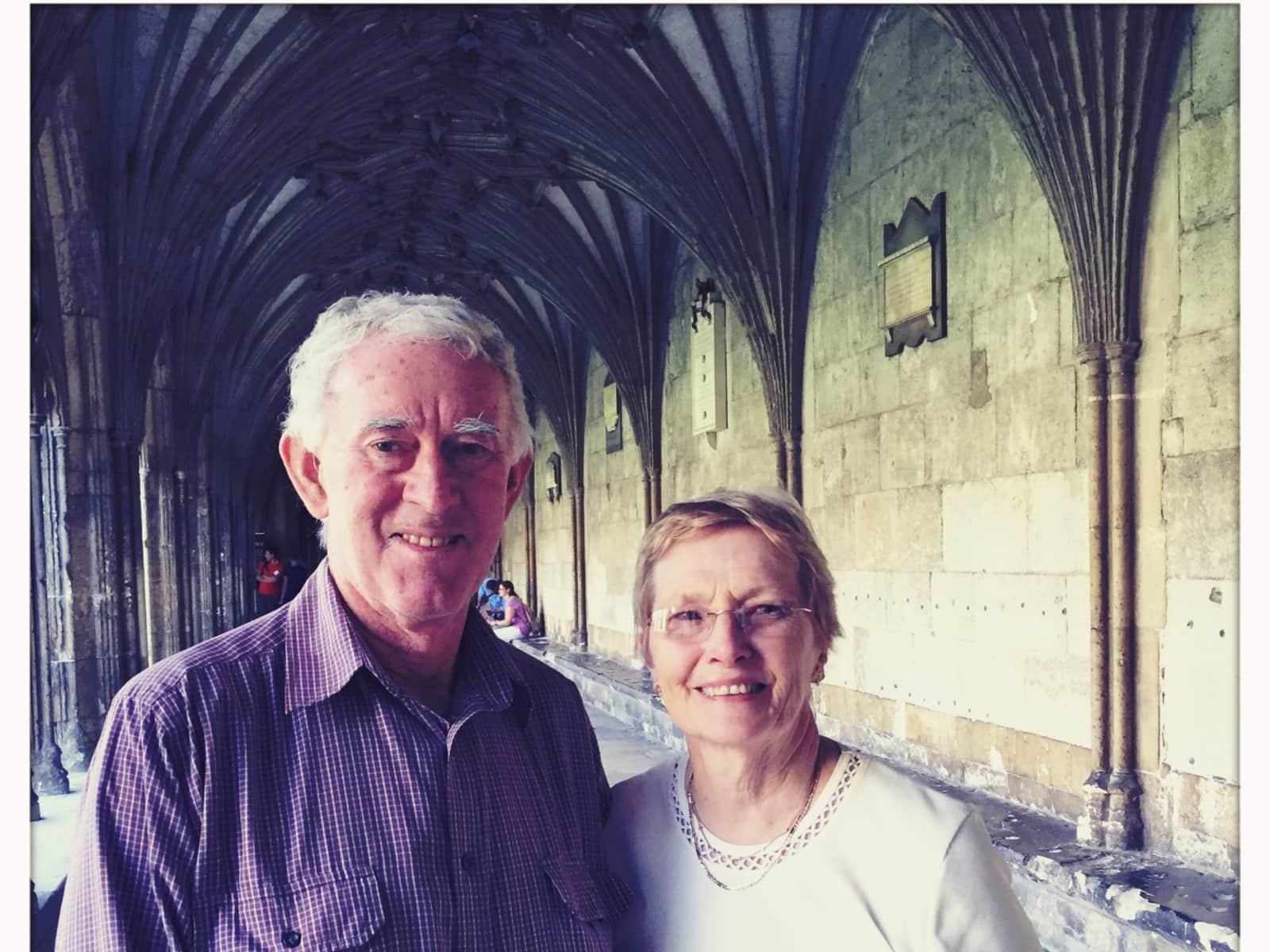 Carolyn & Ross from Margaret River, Western Australia, Australia