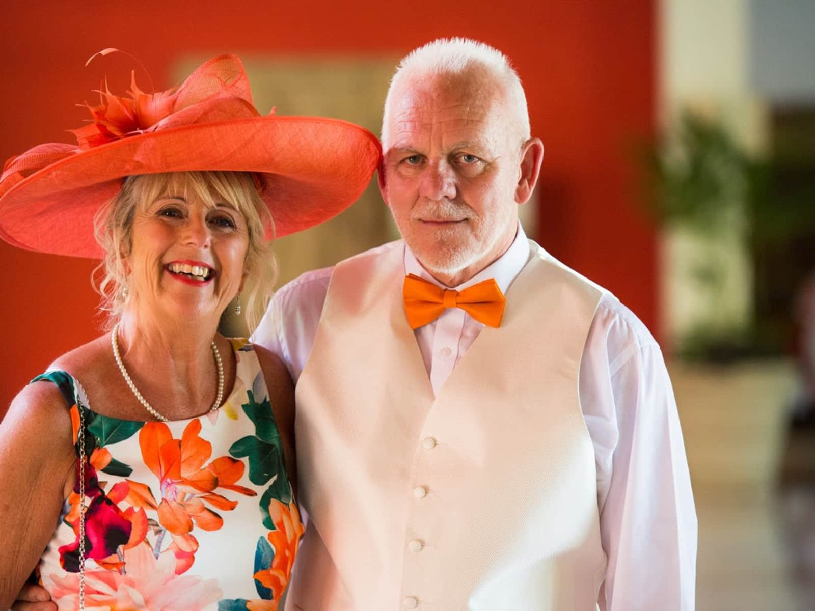 Debra & David from Nottingham, United Kingdom
