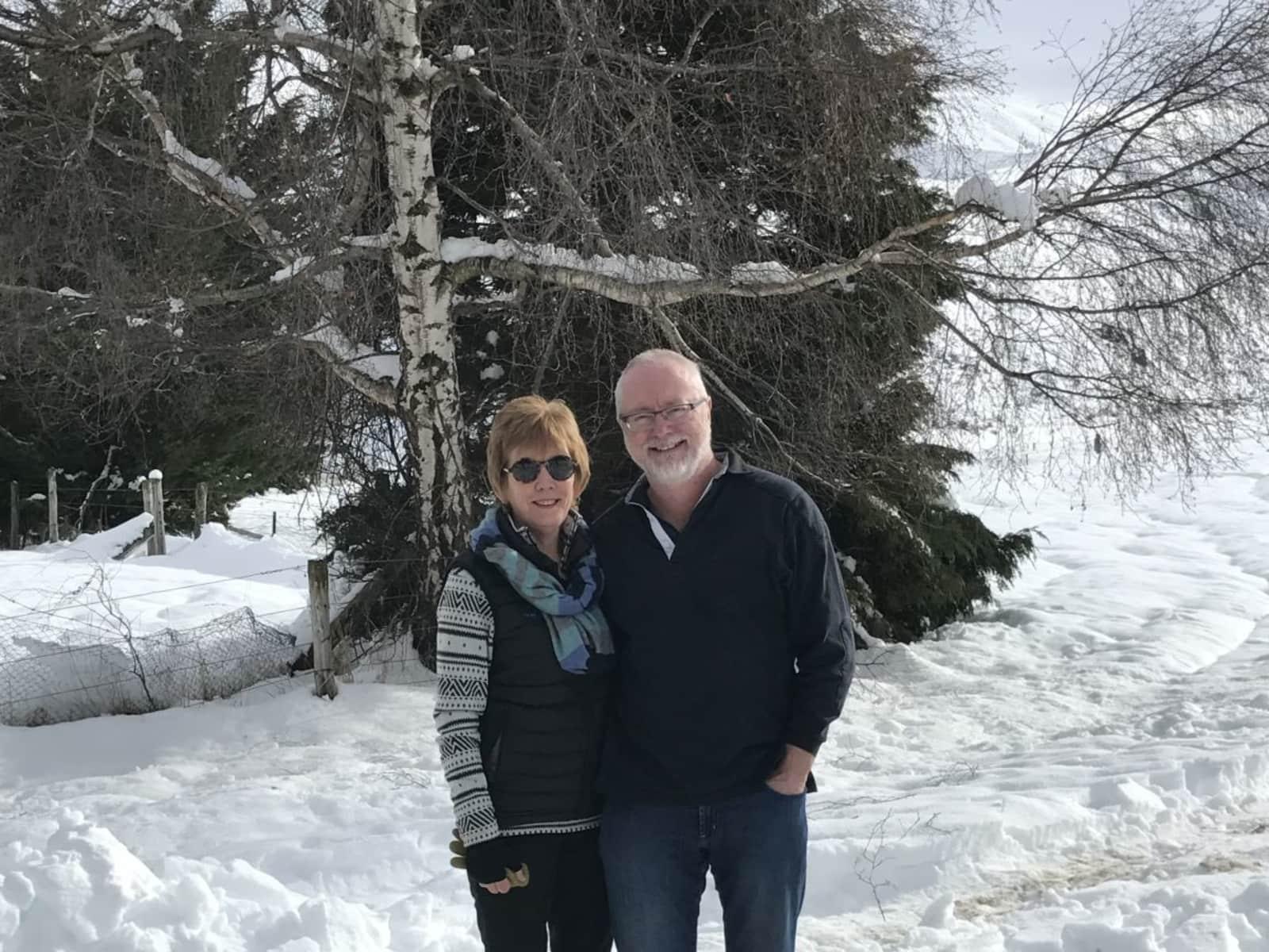 Susan & Howard from Christchurch, New Zealand