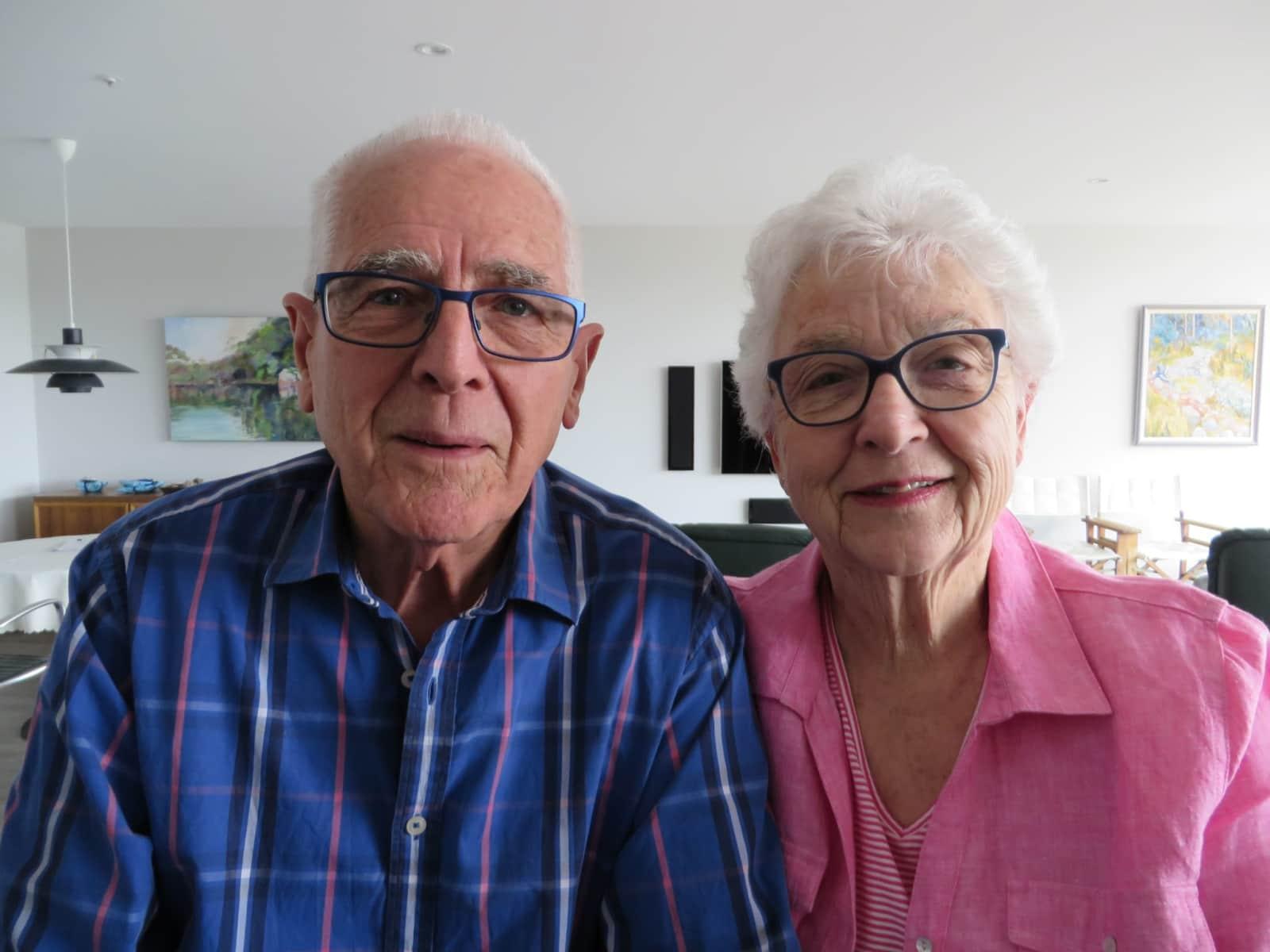 Peter & Pam from Hobart, Tasmania, Australia