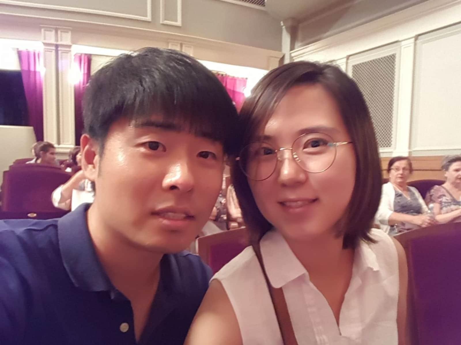 Narae & Chanil from Seoul, South Korea