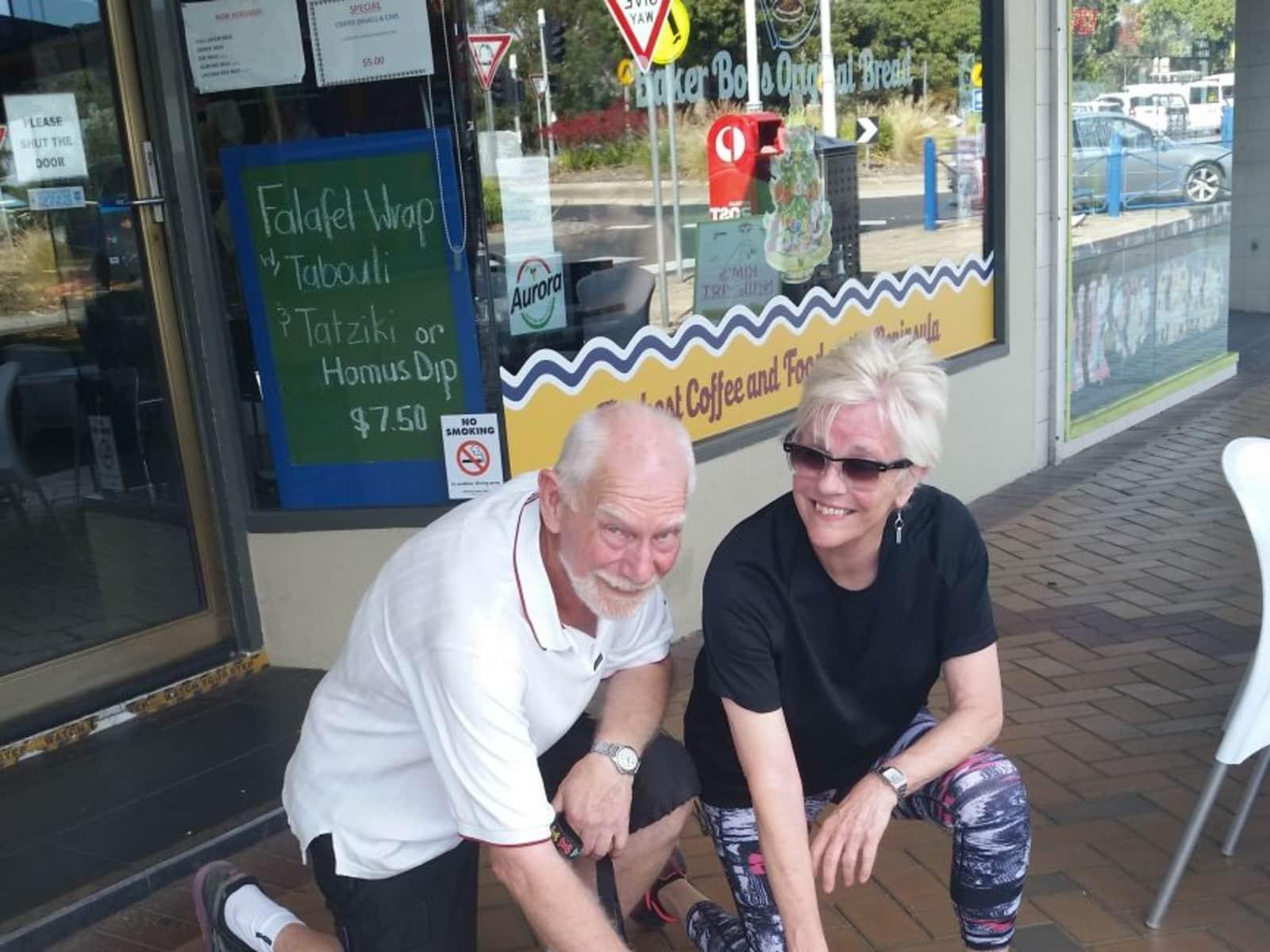 Lynette & Clive from Melbourne, Victoria, Australia