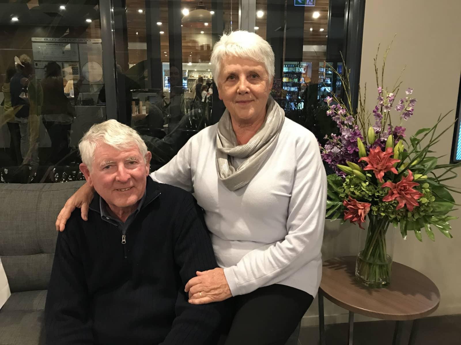 Carole & Maurice from Cambridge, New Zealand