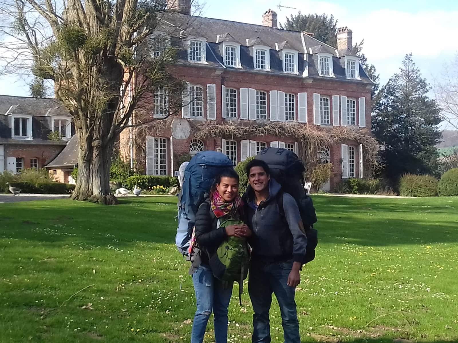 Yarett & Alvaro from Courchevel, France