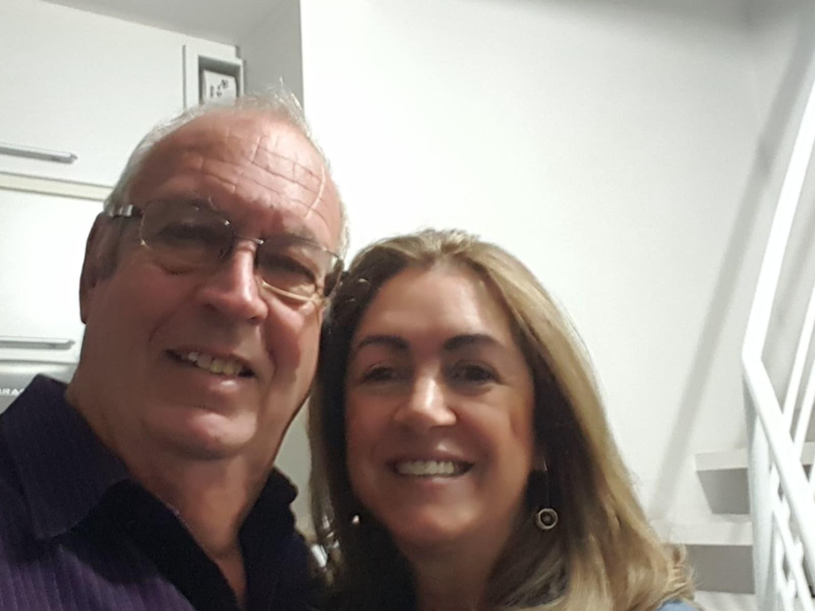 Stuart & Marli from Florianópolis, Brazil