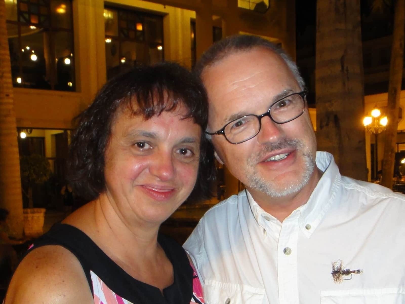 Susan & Rainer from Houston, Texas, United States