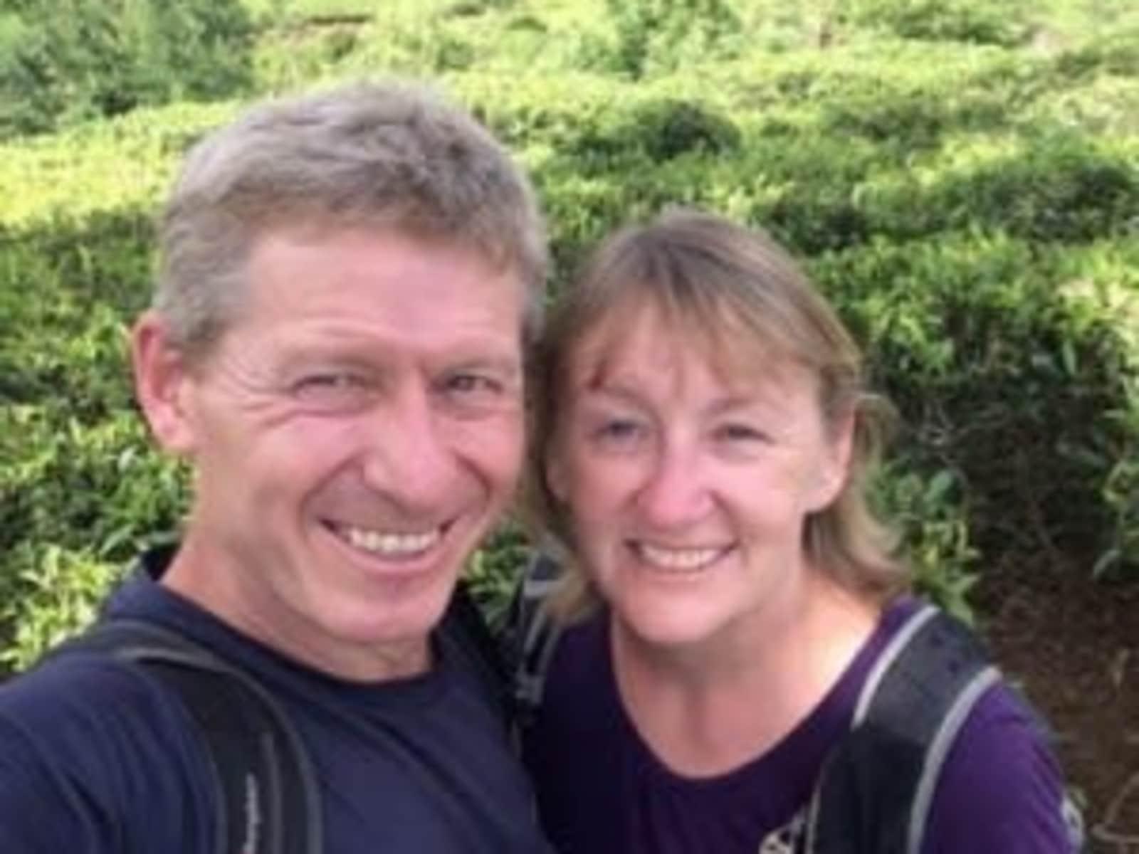 Sarah & Nigel from Barnard Castle, United Kingdom