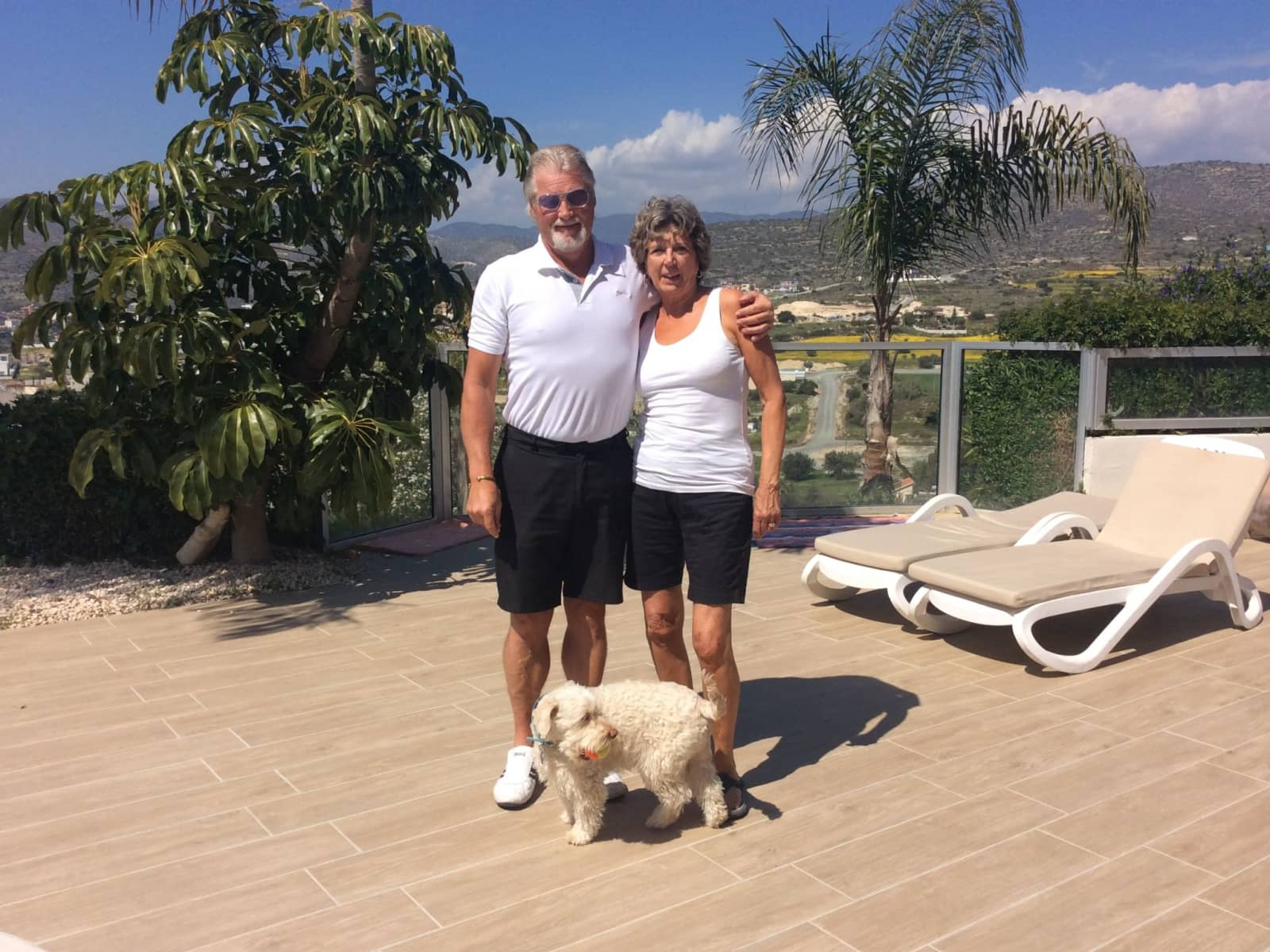 Herdis & Byron from Frankford, Ontario, Canada