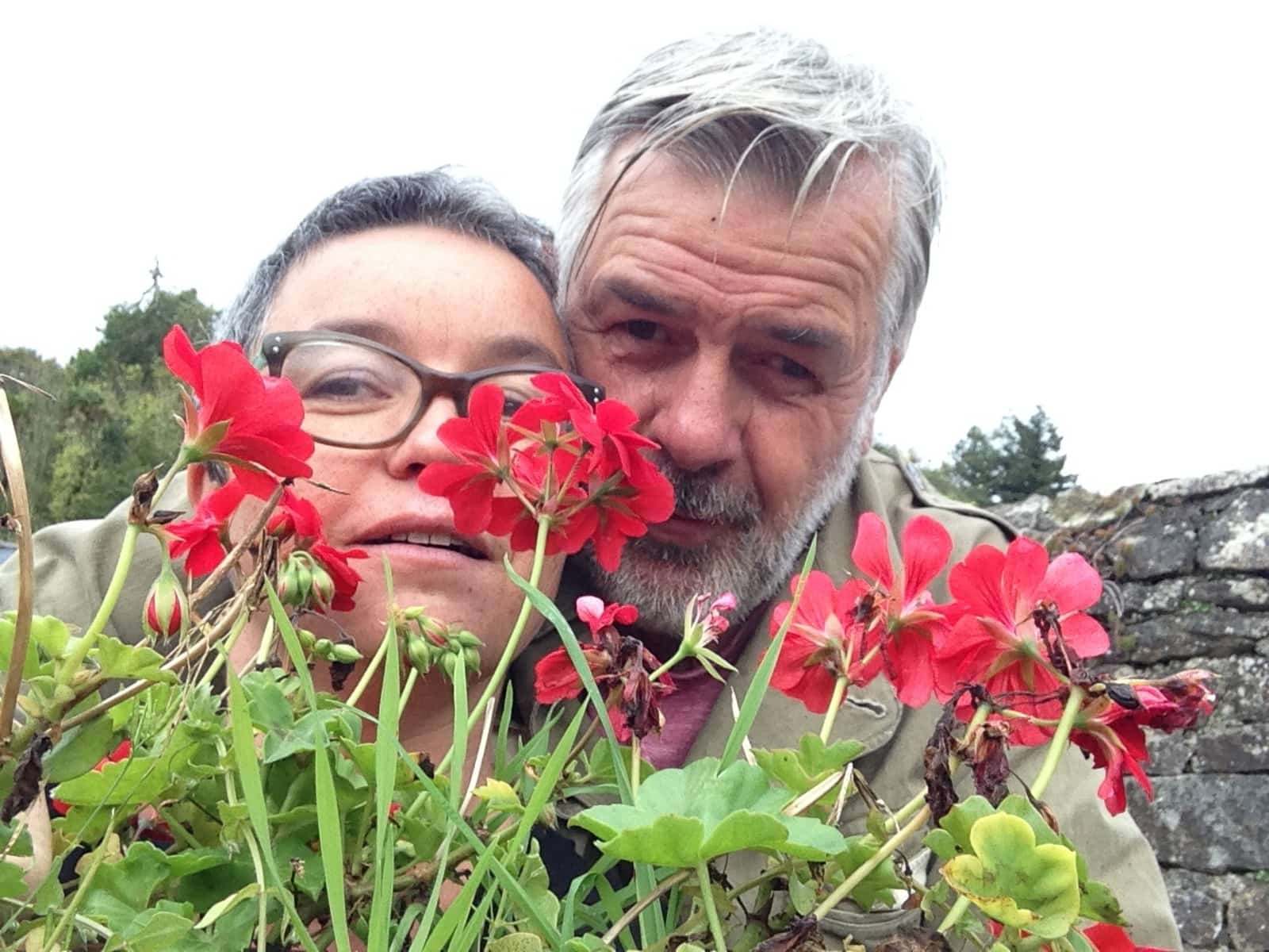 Francoise & Youn from Pont-Scorff, France