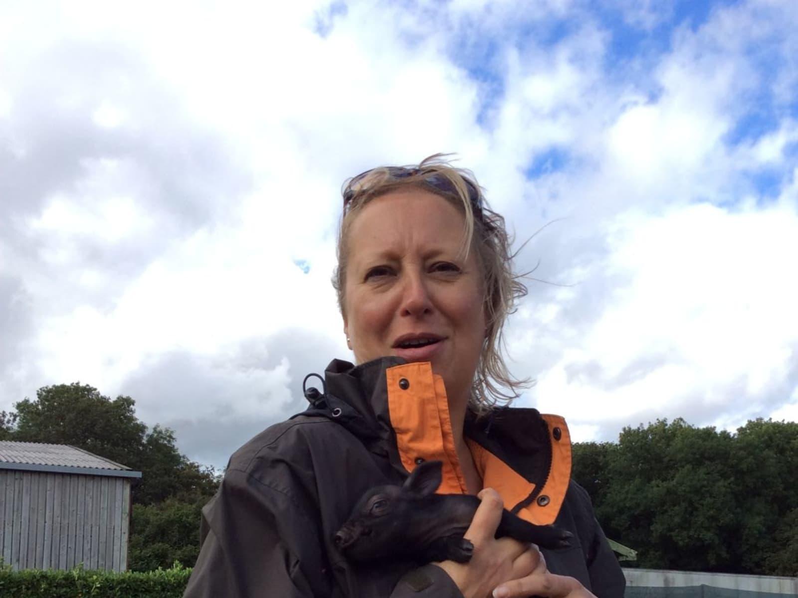 Sally from Warwick, United Kingdom