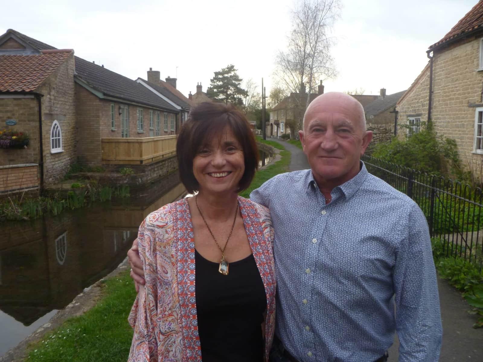 Trish matthews & Steffan from Nettleham, United Kingdom
