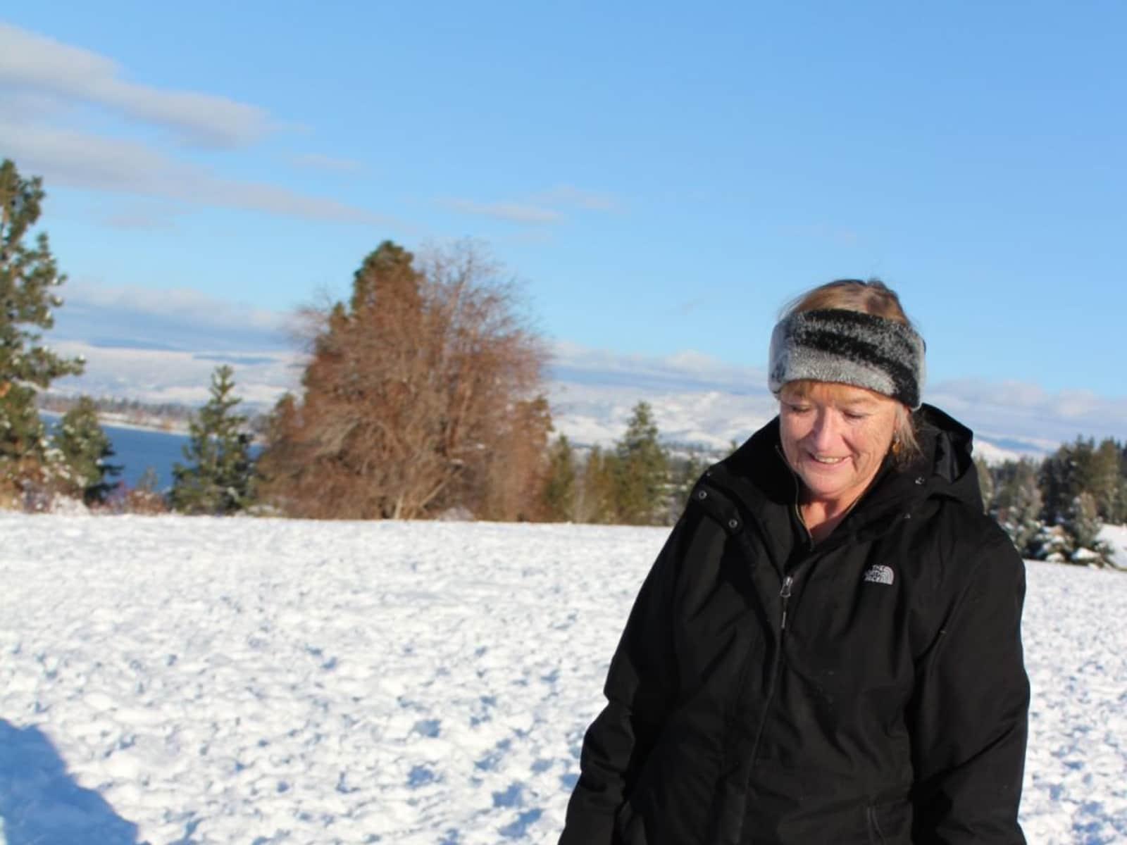 Maureen from Lethbridge, Alberta, Canada