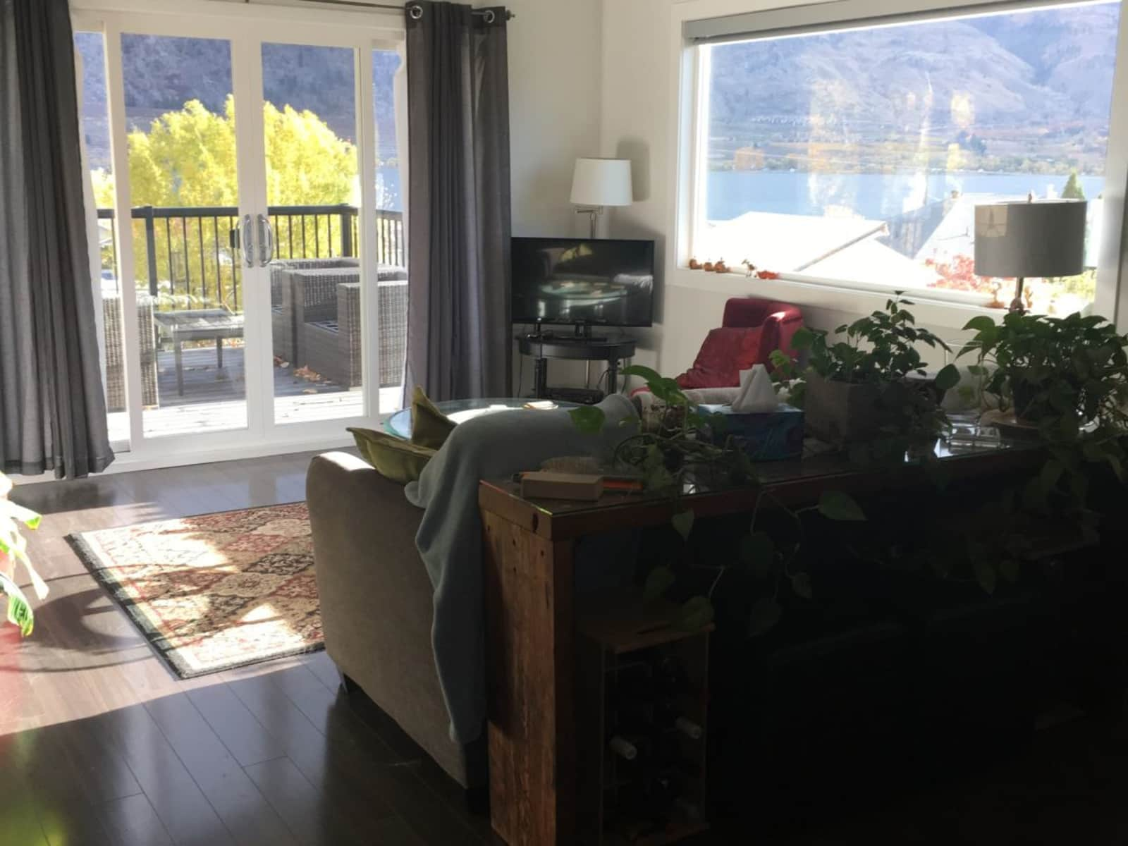 Housesitting assignment in Osoyoos, British Columbia, Canada