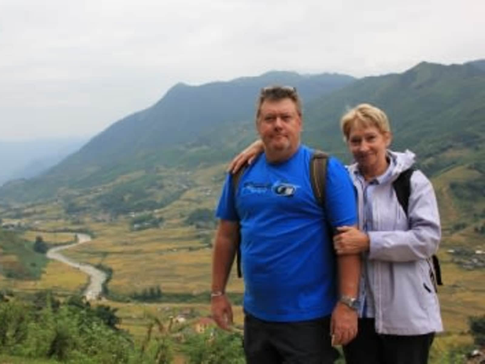 Chris & Linda from Newcastle upon Tyne, United Kingdom
