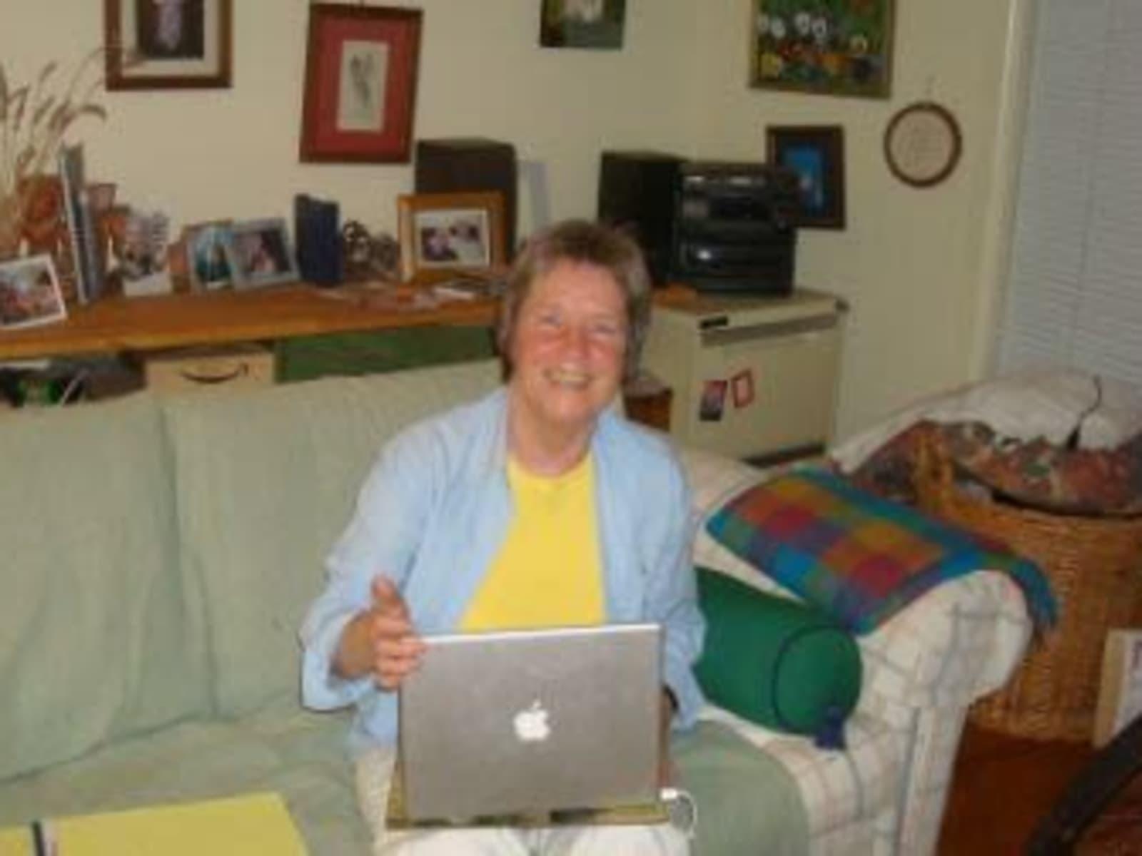 Joan from Melbourne, Victoria, Australia
