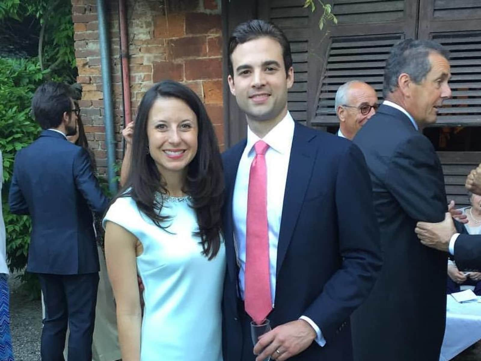 Ashley & Corey from London, United Kingdom