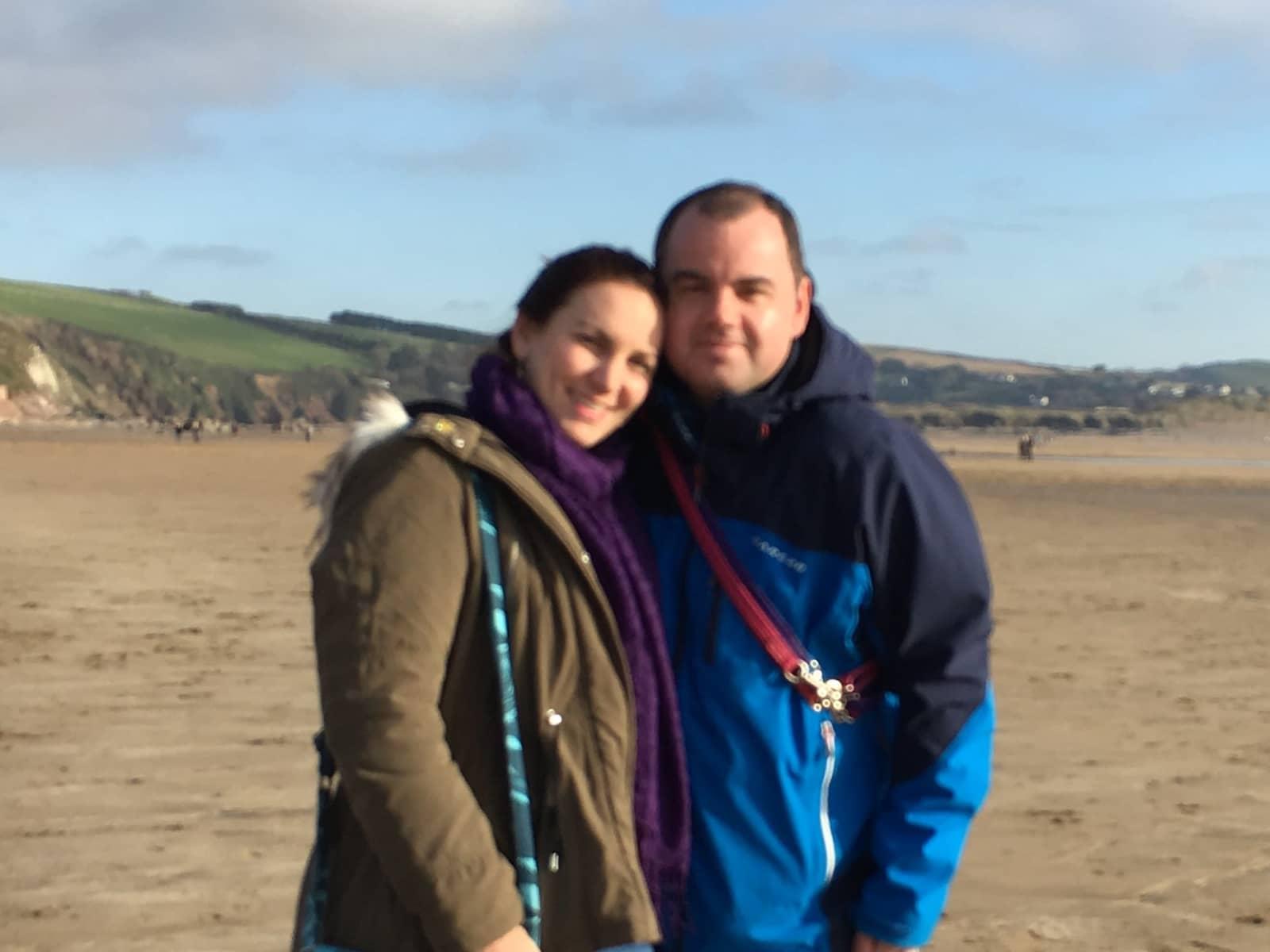 Rebecca & Jason from Poole, United Kingdom