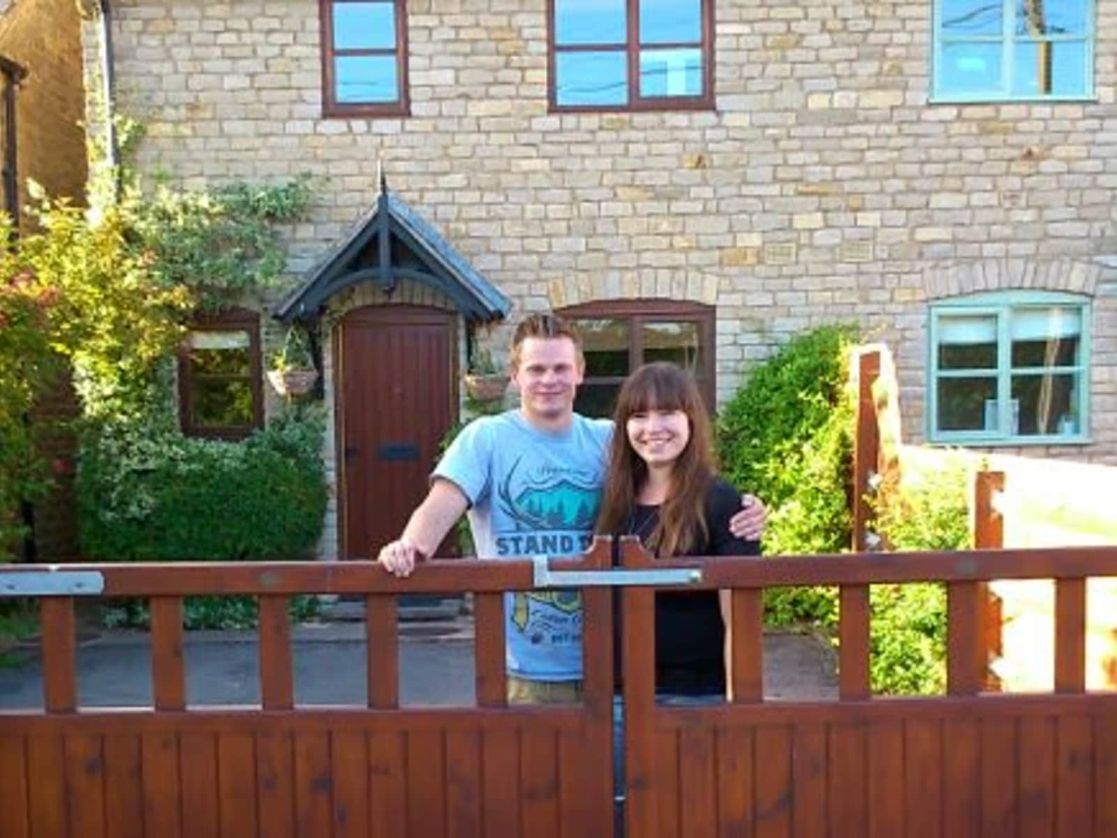 Philippa & Edward from Oxford, United Kingdom