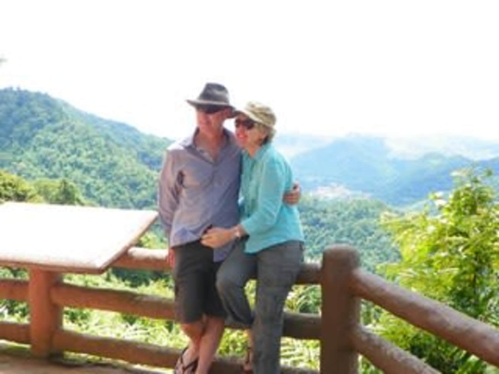 Roger & Alison from Maleny, Queensland, Australia