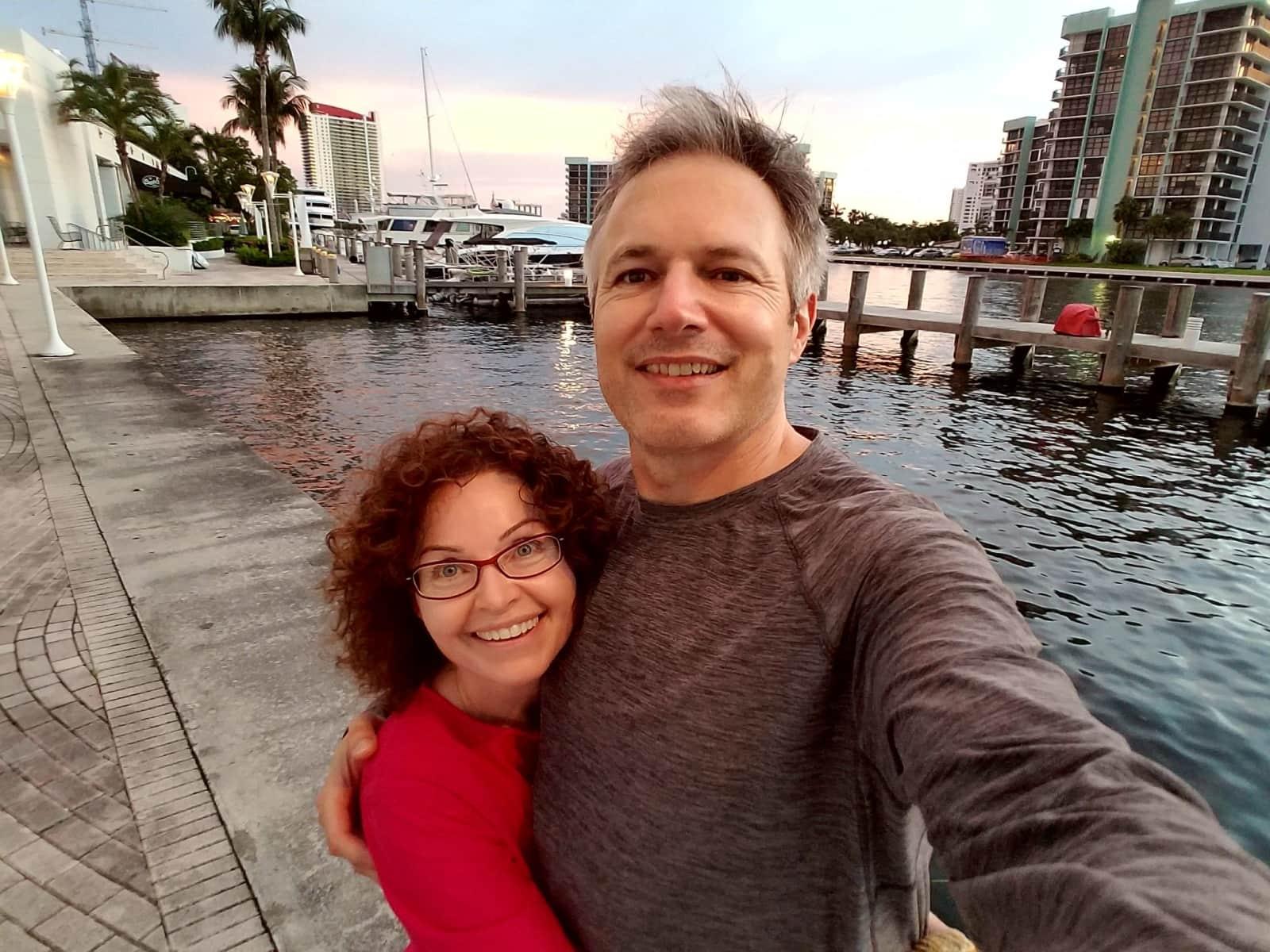Marita & Edward from Hollywood Beach Gardens, Florida, United States