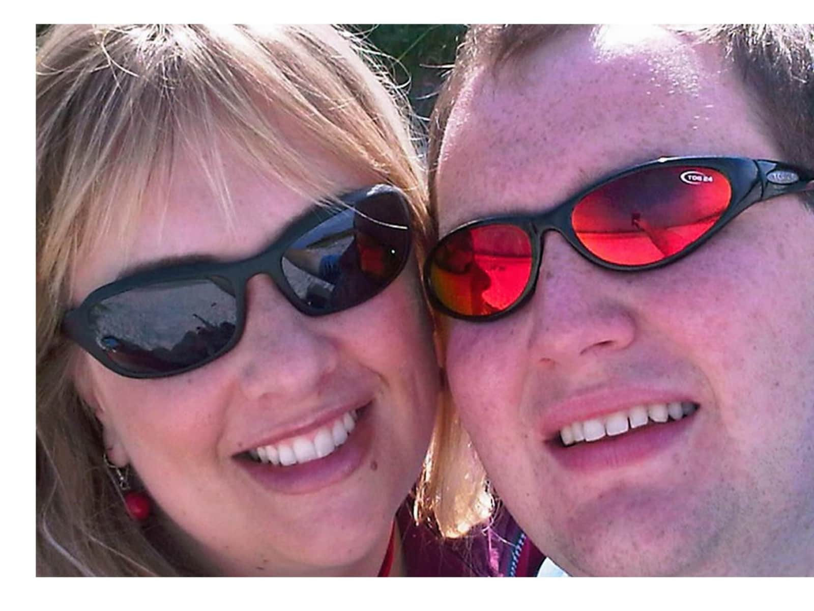 Carrie & Andrew from Stratford-upon-Avon, United Kingdom