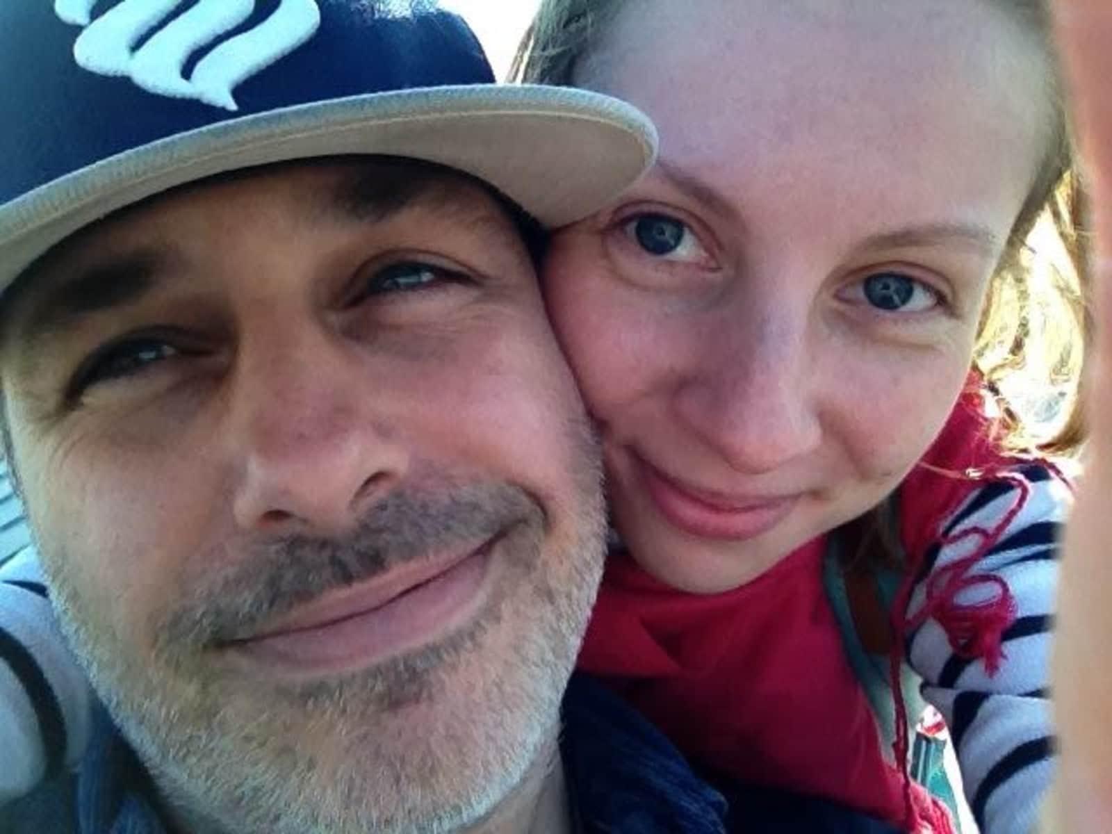 Greg & Natasha from Saint Petersburg, Russia
