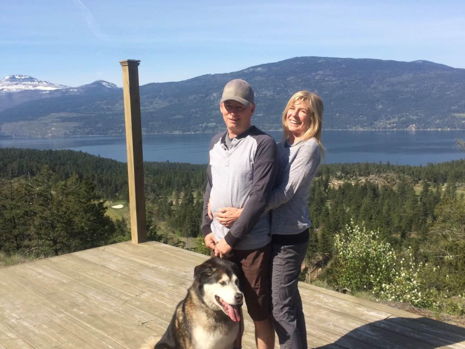 Housesitting assignment in Vernon, British Columbia, Canada