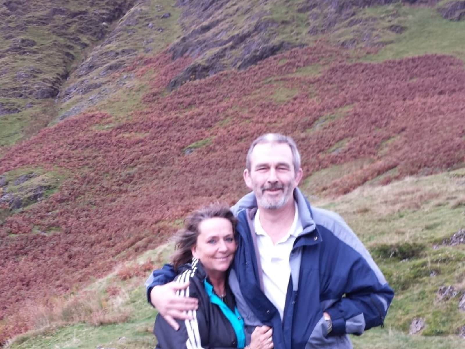 Liz & John from Guildford, United Kingdom