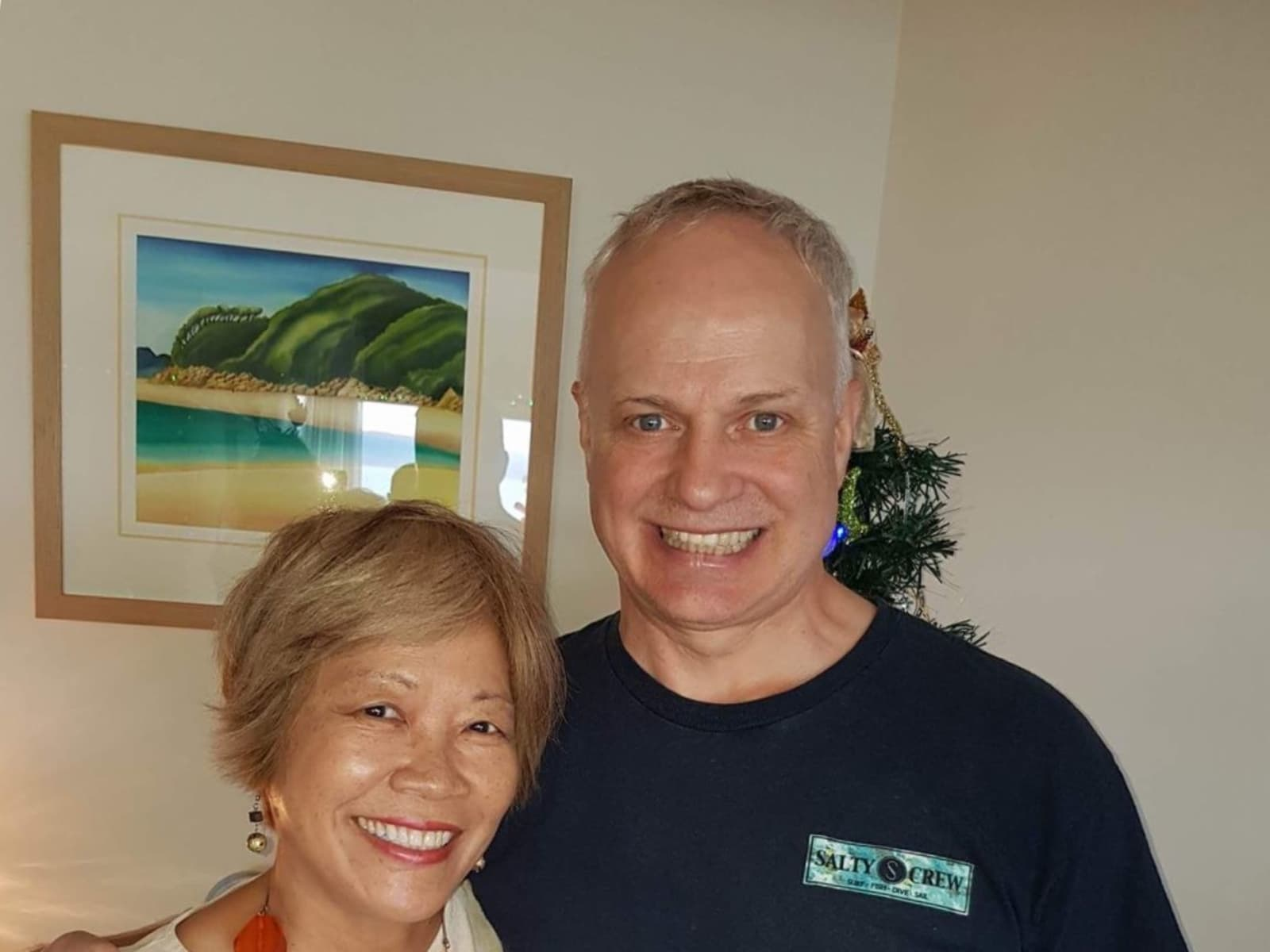 Janet & Ged from Sydney, New South Wales, Australia