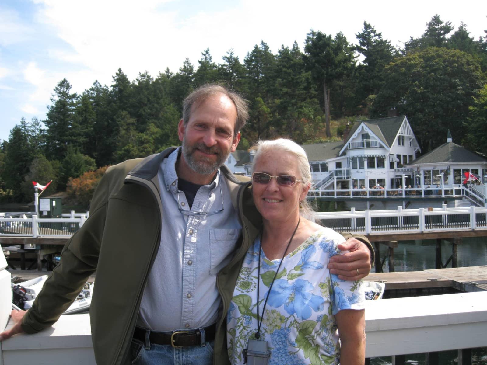 Barbara & fred & Fred from Friday Harbor, Washington, United States