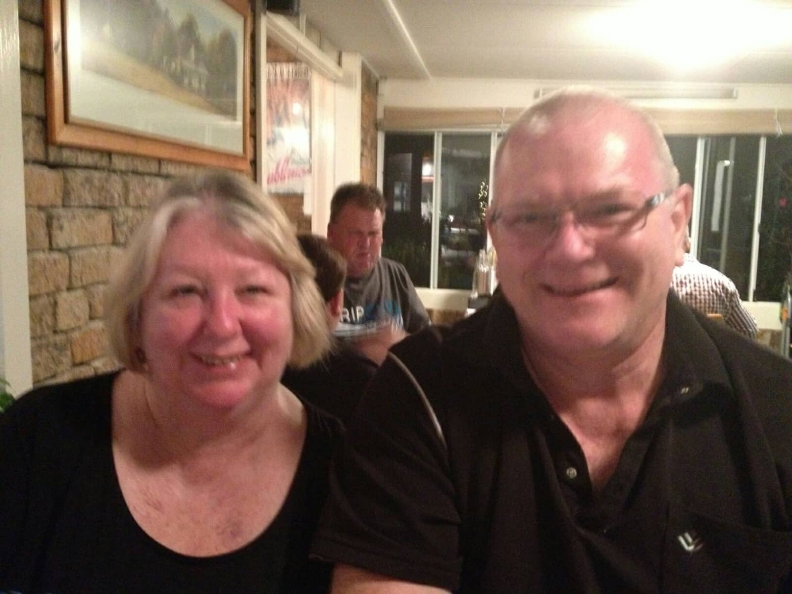 Janet & Steve from Sydney, New South Wales, Australia