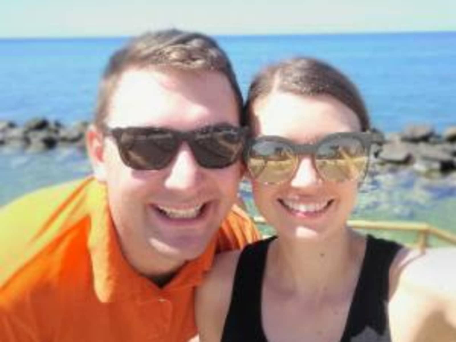 Claire & Patrick from Brisbane, Queensland, Australia