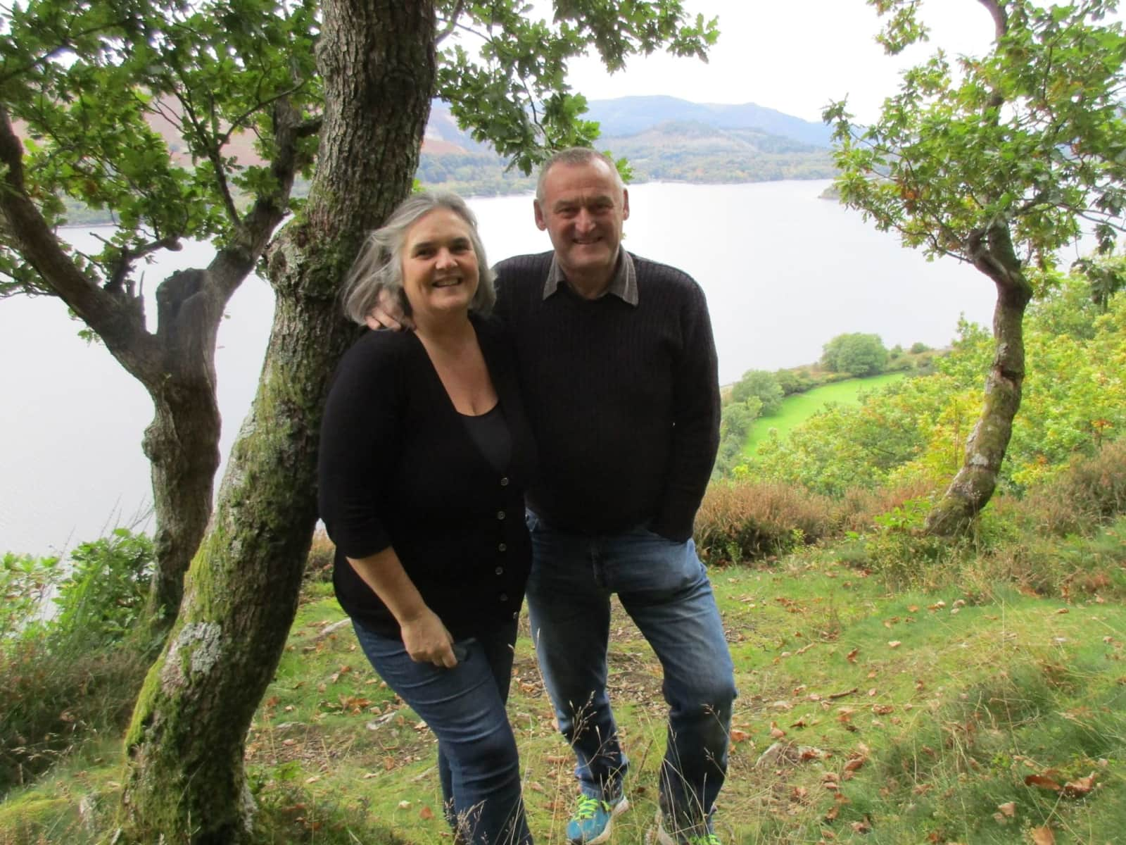 Janet & Eric from Wigan, United Kingdom